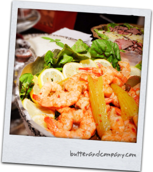 Seafood Hors d'Oeuvres